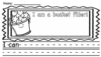 I am a bucket filler!