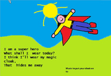 I am a superhero. Action song for young children.video mp3s
