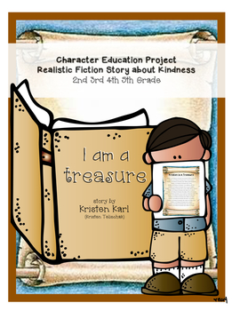 ELA Character Education Project Craftivity 2nd 3rd 4th 5th Grade Kindness Week