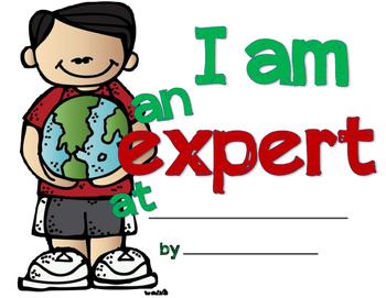 I am an EXPERT at...!