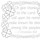"""""""I am blessed"""" writing prompt craftivity for Christian schools - St. Patrick's"""