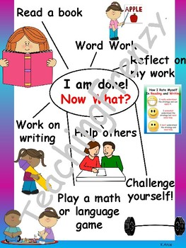 I am done! Anchor Chart