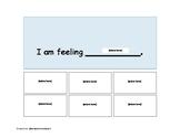 I am feeling...I need... Visual Choice Boards