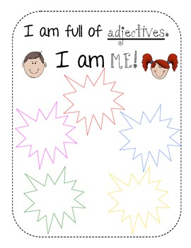 I am full of adjectives!