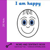 I am happy Book and Card Set
