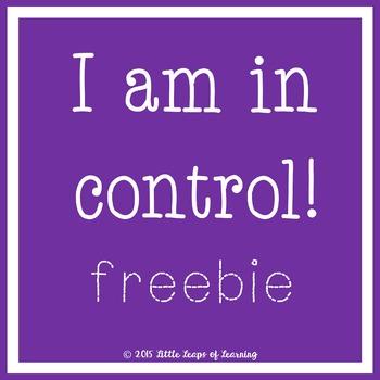 I am in Control!