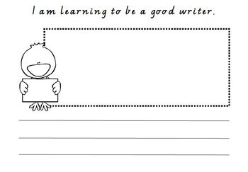 I am learning to be a good writer template