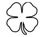 I am lucky... prompt   Shamrock  St. Patrick's Day