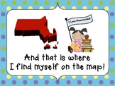 I Am on the Map of Massachusetts Make and Take Book