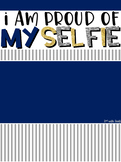 I am proud of my SELFIE - Goal Setting (editable)