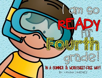 I am so ready for Fourth Grade! Fun Summer Packet!