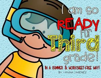 I am so ready for Third grade! Fun Summer Packet!