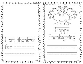 I am thankful for book