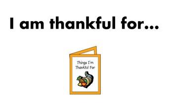 I am thankful for flipchart