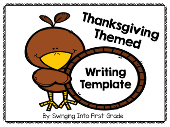I am thankful for writing page