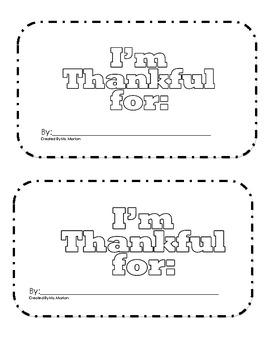 I am thankful reader