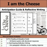 I am the Cheese - Anticipation Guide & Reflection Writing