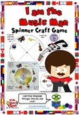 I am the Music Man - Spinner game craft - Musical instruments vocabulary