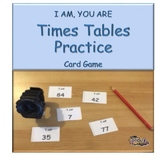 I am, you are - three times tables practice