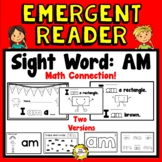 I am... (Shapes) Math Emergent Reader (Sight Word: AM)