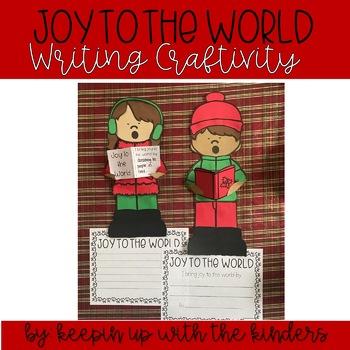 I bring JOY to the World! Writing Craftivity