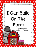 I can Build...On The Farm (Block Center)