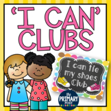 I can CLUBS- EDITABLE {great for data and motivating students!}