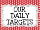 """""""I can"""" Daily Target Boards"""