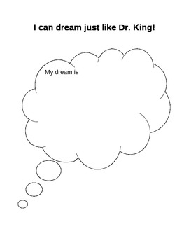 I can Dream like Dr. King