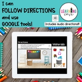 I can FOLLOW directions and use GOOGLE tools!