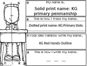 I can LEARN my name...editable