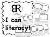 I can- Literacy!