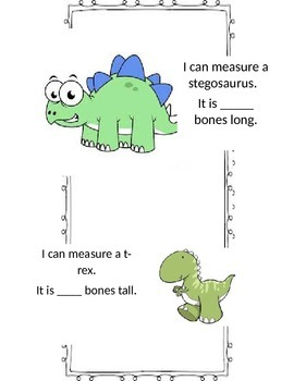 I can Measure Dinosaurs!