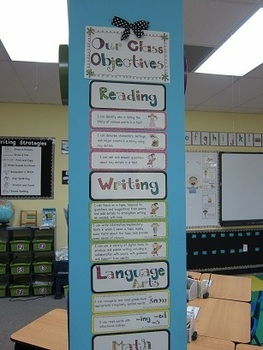 "Common Core Standards Posters (2nd Grade --""I can"" Objectives)"