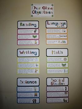 """Common Core Standards Posters (First Grade -- """"I can"""")"""