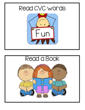 I can Picture Statement Cards- Kindergarten