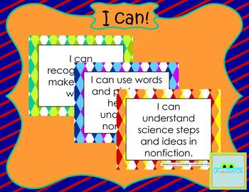 I can! Posters for Extended Common Core