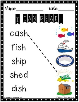 I can Read! CVC word reading and spelling