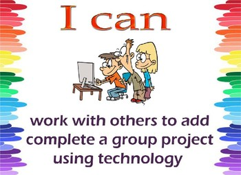 """I can Statement """"Technology"""""""