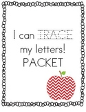 I can TRACE my letters! Pre-K & Kindergarten Alphabet Prac
