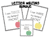 I can WRITE & TRACE my letters BUNDLE Kindergarten Alphabet Writing Practice