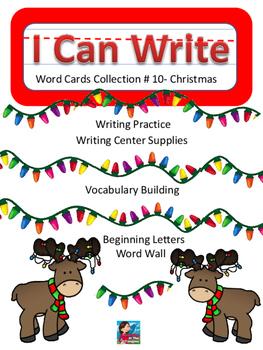 I can Write #10- Christmas