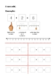 I can add/take away (plus/subtract) worksheets
