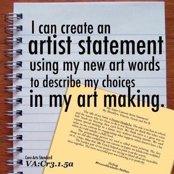I can artist statement