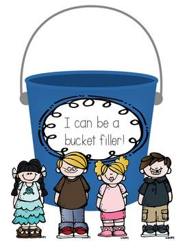 I can be a bucket filler writing freebie