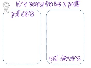 I can be a pal packet