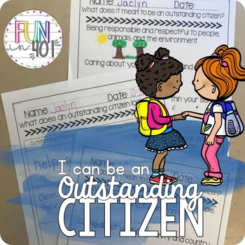 I can be an Outstanding Citizen!