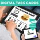 DOLLAR UP: I can...buy food  Money Task Cards Bundle 60 Special Education
