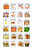 Visual support, (Food) for students with Autism.special needs