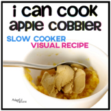 Visual Recipe: I can cook... apple cobbler Adapted Book Sp